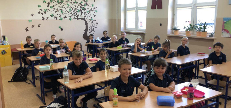 Pierwsze dni nauki wnaszej szkole (klasa IIIc)